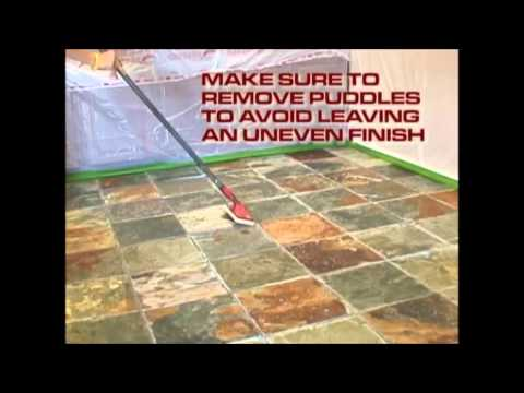 Modern Stone Shine Seal Sealer and Color Enhancement