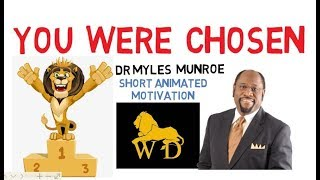 YOU ARE SPECIAL - NEVER BELIEVE OTHERWISE by Dr Myles Munroe (Awesome!!!)