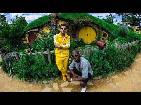 Going to Hobbiton with Nico and Vinz!