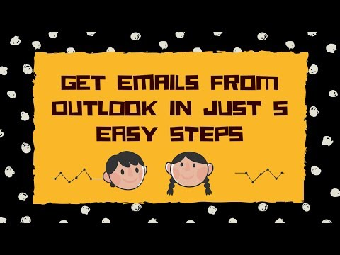 Get Emails From Outlook In Just 5 Easy Steps