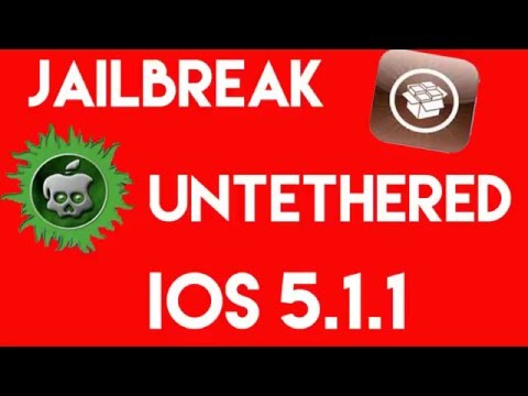 Untethered Jailbreak iOS 5.1.1 [iPhone 3G,3Gs,4,4s/iPad 1,2,3/iPod Touch 3,4]