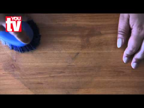 Tip: How to remove permanent marker from laminated flooring
