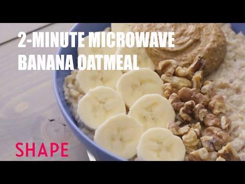 2-Minute Microwave Banana Oatmeal