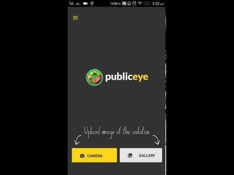 Public Eye - Official BTP App