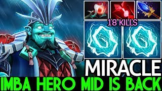 MIRACLE [Storm Spirit] Imba Hero Mid is Back Nonstop Ganking 7.25 Dota 2