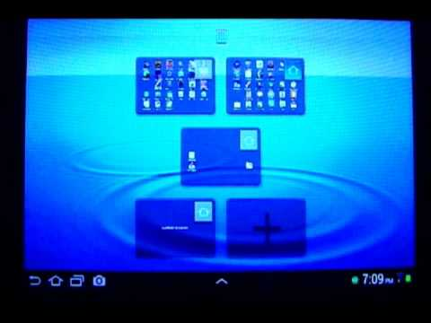 How to Add & Delete Home Screen Pages in Android 4.0 ( Samsung Galaxy Tab 2 7