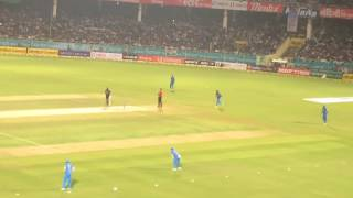 Extraordinary fielding by rahane