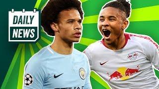 Download FC Bayern: Sané & Pépé-Transfers vermasselt? PSG-Talent zu Leipzig, Kruse in die Türkei? Video