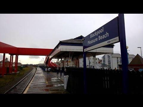 Blackpool Pleasure Beach Train Station