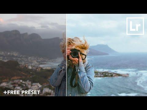 HOW TO GET A FILM LOOK IN LIGHTROOM  [+FREE PRESET] - Lightroom Editing Tutorial