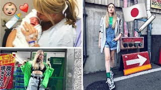 The Baby Was Born & Choosing Outfits For Japan!