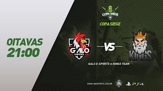 Copa Siege #6 (Oitavas) - Galo e-Sports VS Kings Team - Rainbow Six (PS4)