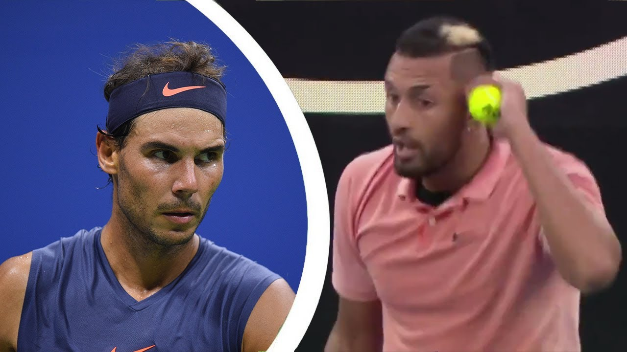 The Most Controversial Match-Up in Tennis History (Nadal VS. Kyrgios)