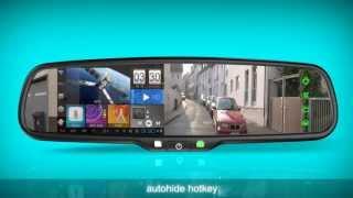 Germid Android GPS Rear View Mirror  JN-045LA