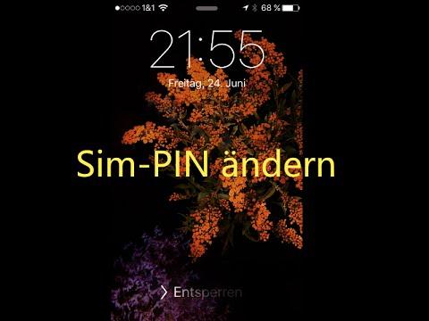iOS Sim Pin ändern iPhone / iPad