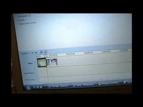 Green Screen Tutorial - Windows Vista Movie Maker