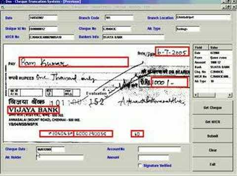 Cheque Clearing System1