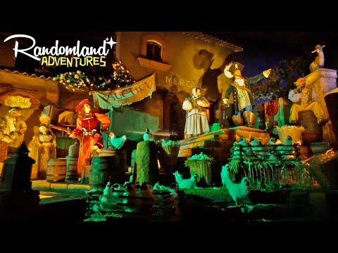 Disneyland's BRAND NEW Pirates of the Caribbean scenes!