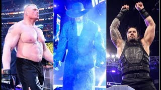 LATEST WWE NEWS On THE UNDERTAKER BROCK LESNAR AND ROMAN REIGNS WRESTLEMANIA 34