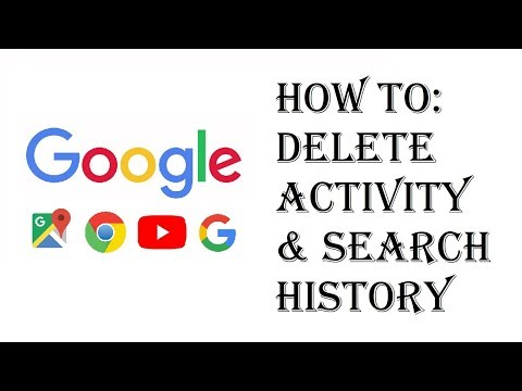 How To Delete Google Search History and Activity Tracking - Remove Google Search History