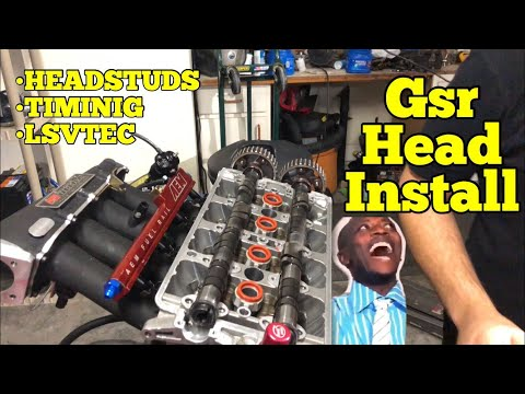 800HP Honda Build || Step-by-Step : Head Install / Timing LSVtec
