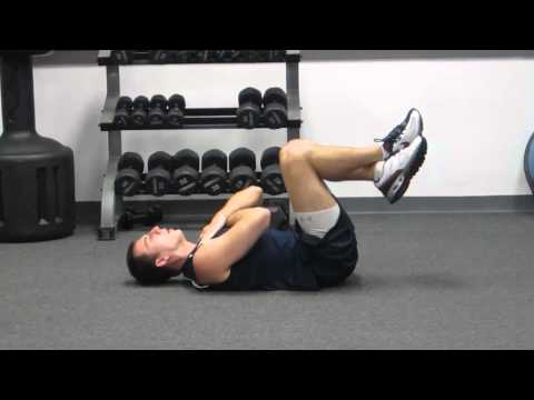 How To Crunch Properly   Abdominal Crunches Exercise for a Flat Stomach Crunches   HASfit
