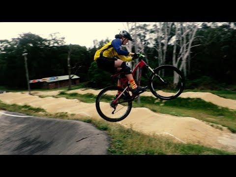 THE SAWTELL BMX TRACK BERM JUMP