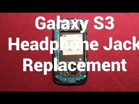 Galaxy S3 Headphone Audio Jack Replacement How To Change
