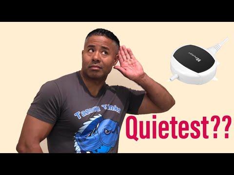Is this the Quietest Aquarium Air Pump?