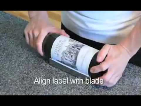 How to Remove Keepsake  Wine Labels