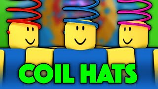 COIL HATS in Tower of Hell... (RARE) | Roblox