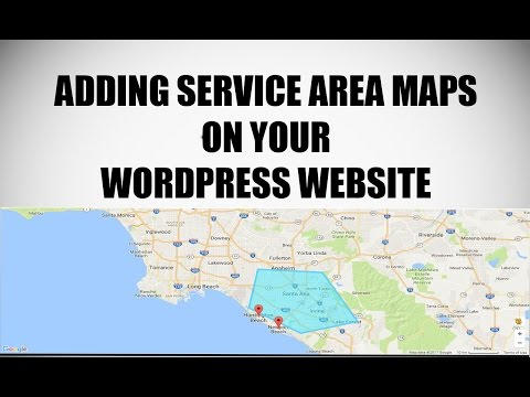 Adding Service Areas and Locations on Google Maps for WordPress Websites