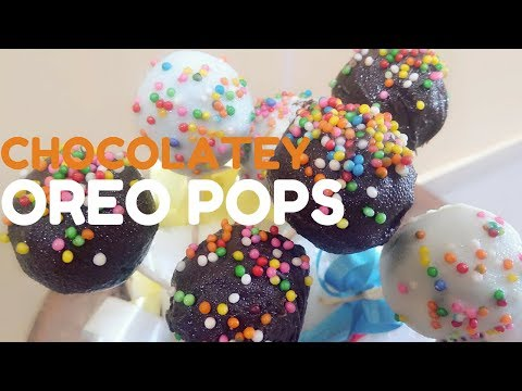 Oreo Pops | How to Cook That Oreo Pops | No Cook Easy Oreo Chocolate Recipe | Oreo Biscuit Pops |