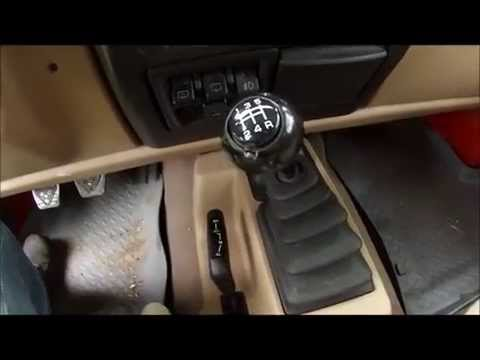 Jeep Wrangler TJ Shift Knob Removal