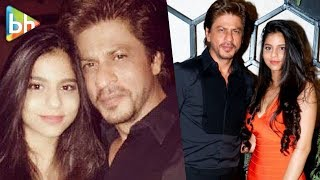 Shahrukh Khan With Daughter Suhana Khan At The Opening Of Gauri Khan's New Restaurant