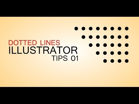 DOTTED LINES- ILLUSTRATOR TIPS 1