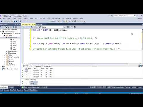 How To Use SUM in SQL