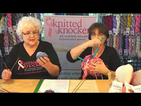 KnittedKnockers.org - Bottoms Up Knocker KNIT FLAT on Two Needles Tutorial