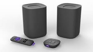 Wireless speakers designed to work exclusively with your Roku TVs.