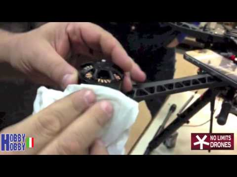 DJI INNOVATIONS S800 HOW TO REDUCE MOTOR VIBRATION