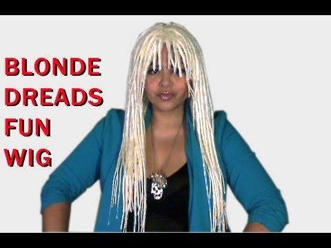 Dreads Wig • COSTUME White Blonde!