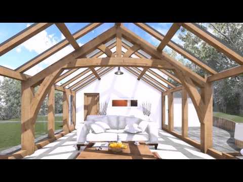 Arboreta CGI Glass Roof Conservatory