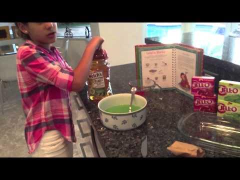 how to make layered jello