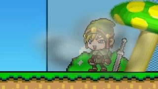 DZ - Link vs Mario