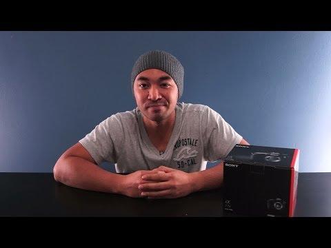 Unboxing the Sony A77 Mark II | John Sison