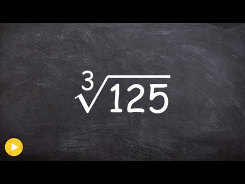 Learn How to Take the Cube Root of 125 Using the Identify Element