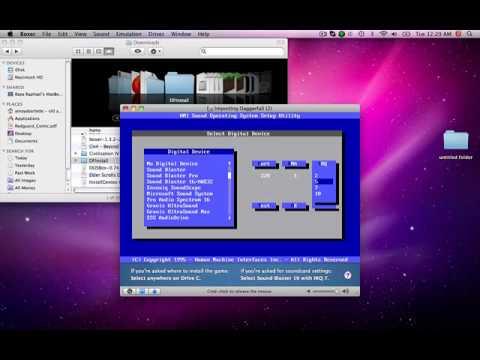 How to install Elder Scrolls II Daggerfal [MAC].