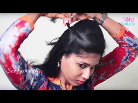 3 Best Self Hairstyles for long medium hair || Self hairstyles step by step tutorial video