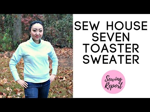 Sew House Seven Toaster Sweater #1 | Handmade Wardrobe | SEWING REPORT
