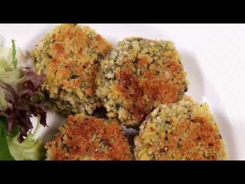 Spicy spinach & kidney bean patties recipe from Waitrose